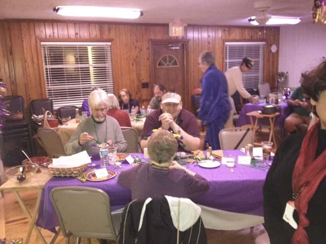 Marde Gras Fund Raiser Dinner 02/15/13