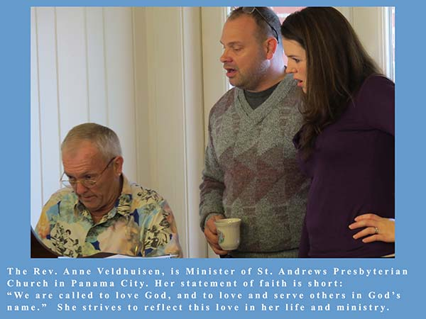 Sunday Service Guest Speaker Rev. Anne Veldhuisen 03/13/13