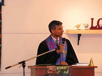 Service with Rev. Manish Mishra Marzetti