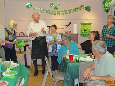 03/26/13 St. Patrick's Day Fund Raiser